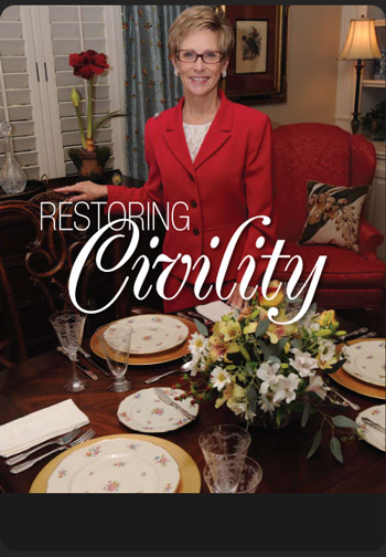 Anne Chandler of The Chandler School of Etiquette